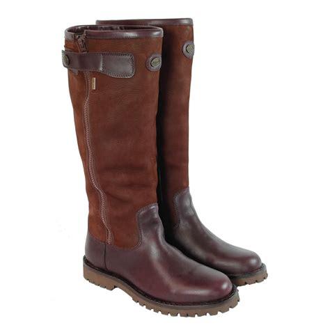 mens le chameau boots le chameau zip gtx boot s brown uttings