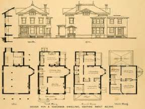 historic farmhouse floor plans house plan old victorian mansion plans design ideas