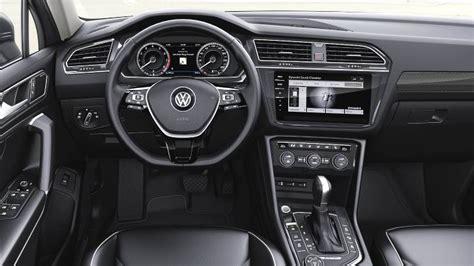 tiguan interni dimensioni volkswagen tiguan allspace 2018 bagagliaio e