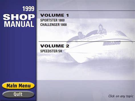 sea doo boat owners manual sea doo sport boats challenger speedster sportster