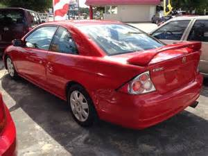 sell used 2002 honda civic ex coupe 2 door 1 7l in