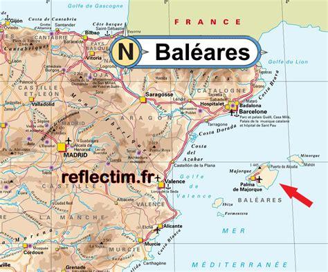 0004488962 carte touristique ibiza and carte des bal 233 ares