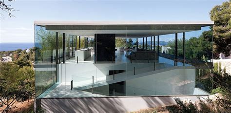 house see through this see through house has sea views contemporist