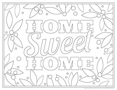 the sweethome sheets ladies coloring club page 5 of 5 coloring book