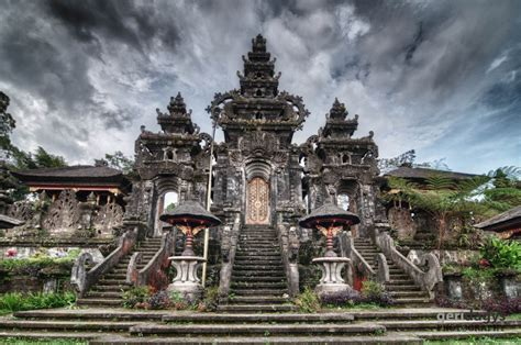 indonesia bali temples  hdr geri dagys photography