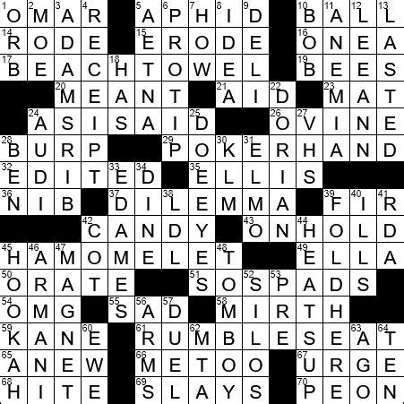 usa today crossword november 14 2014 usa today crossword wednesday la times crossword answers