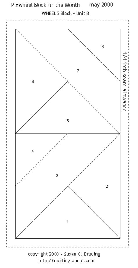 Foundation Patchwork Patterns Free - free quilt patterns block of the month pinwheel wheels