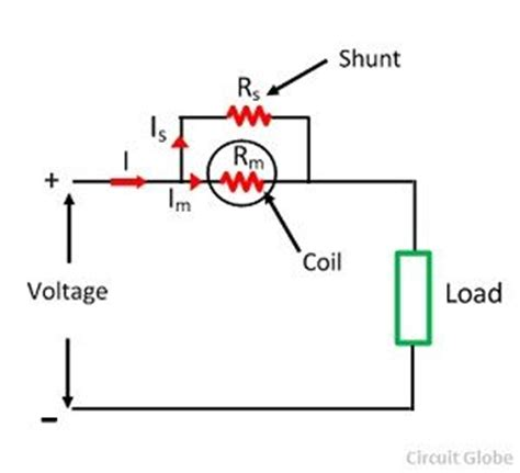 shunt resistor diagram in a parallel circuit in wiring diagram and circuit schematic