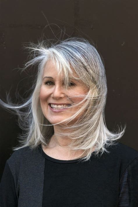 hairstyles for turning grey 267 best sexy gray hair images on pinterest white hair