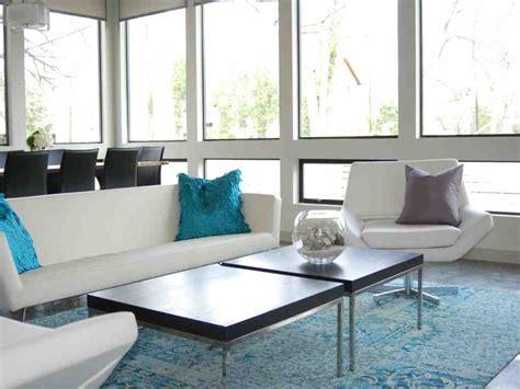 contemporary living room rugs decor ideas