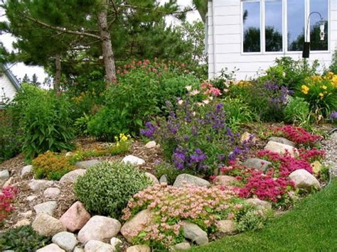 Rock Garden Mn Rock Garden Beautiful Gardens Pinterest