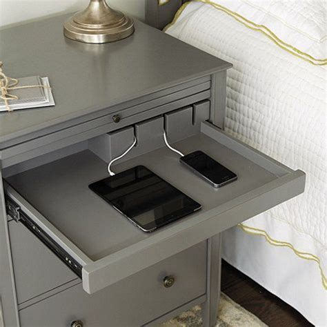 charging station table sidney side table with charging station see best ideas