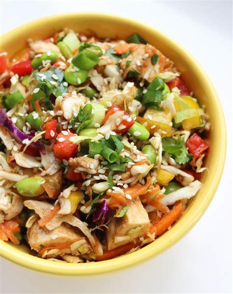 Lezat Sekejap 30 Salad Asia healthy chicken salad popsugar fitness