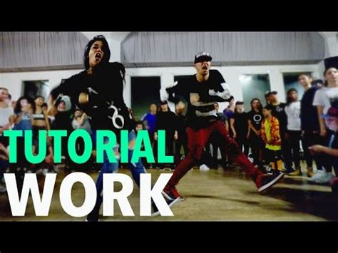 tutorial dance swalla quot work quot rihanna dance tutorial mattsteffanina
