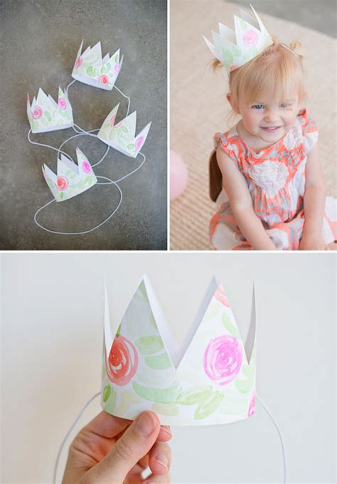 How To Make A Paper Princess Tiara - 25 princess crowns diys for you your crafter