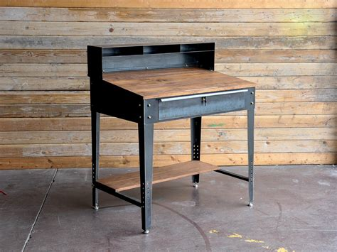 Retro Metal Kitchen Cabinets by Penn Desk 2