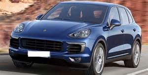 Porsche Crossover Price 2017 Porsche Cayenne Review Suv Crossover Luxury