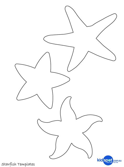 at sea template make a beaded starfish patterns beaches and stencils