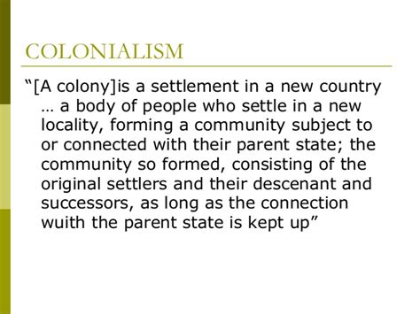 settler state definition defining the terms