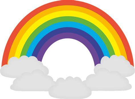 imagenes png arcoiris vector gratis del arco iris colorido prisma imagen