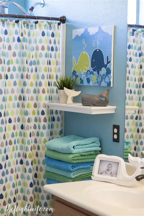 Kid Bathrooms Bathroom And Bathroom Makeovers On Pinterest | kids bathroom makeover fun and friendly whales the