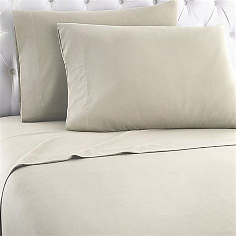 sheets for split king adjustable bed micro flannel 174 solid sheet set bed bath beyond