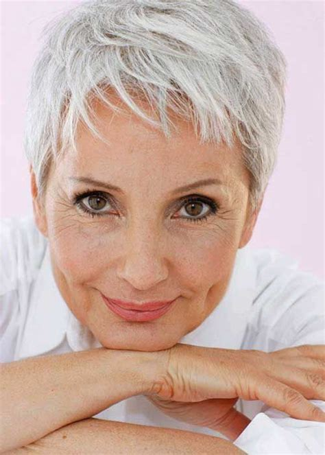 fine thin hair age 64 20 short haircuts women over 50 http www short