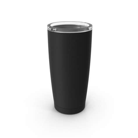 travel coffee mug mockup black  lid png images psds
