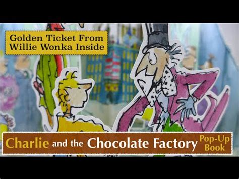 and the chocolate factory book report and the chocolate factory pop up book