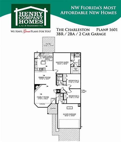 great florida floor plans for new homes new home plans