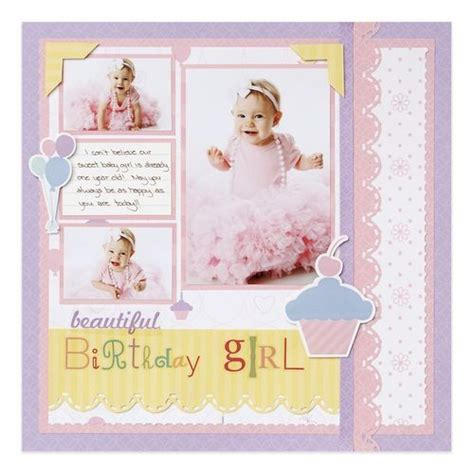 scrapbook layout baby girl fabulous baby girl scrapbook layout diy ideas pinterest