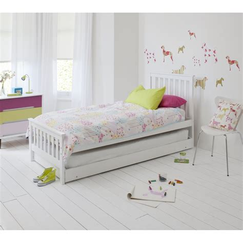 Bed Airland 2 In 1 single bed with pull out sleepover bed noa nani