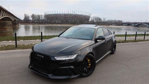 black audi the black rs6 sedan that audi never built has 600 hp