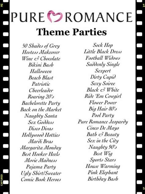 party themes for pure romance 80 best images about pure romance host a party and party
