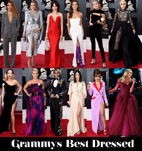 who was your best dressed at the 2018 grammy awards red