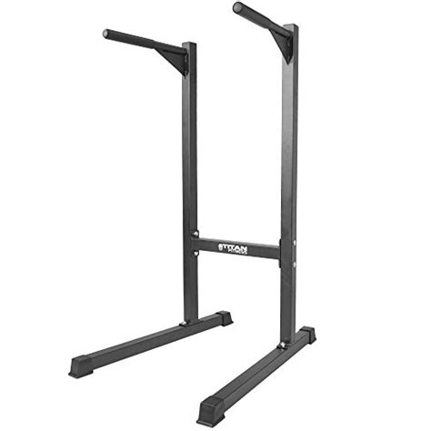 Push Up Stand Alat Fitness titan dipping station dip stand pull push up bar fitness