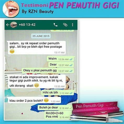 Asal Pen Pemutih Gigi pen pemutih gigi rzn murah rm18 sahaja pembekal