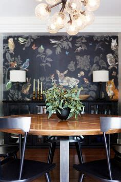 wallpaper in dining room 1000 ideas about dining room wallpaper on
