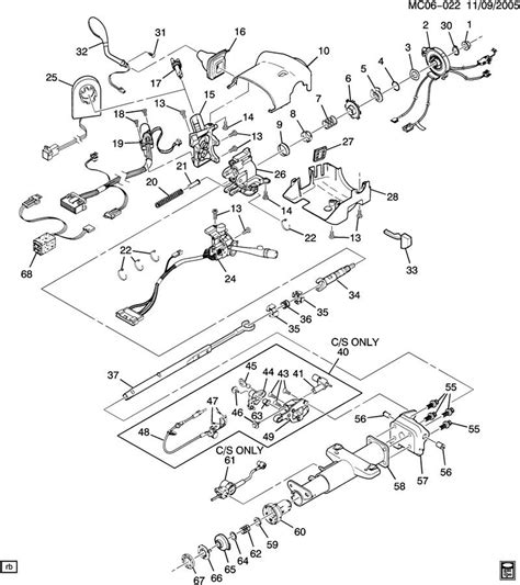 steering parts diagram chevy steering parts diagram chevy free engine image for