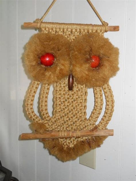 70s Macrame - 17 best images about macrame owls on macrame