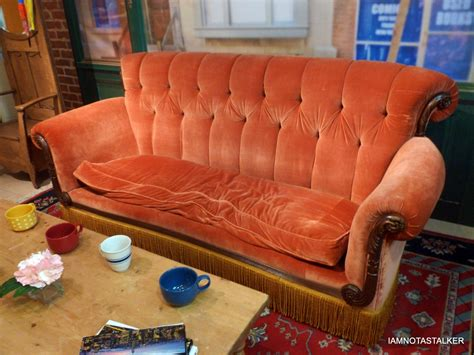 couch from friends friends couch replica images