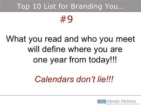 Branding Notes For Mba by Personal Brand Conversation At Villanova S Emba Program