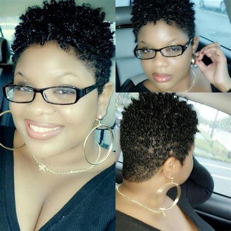 twa haircut tapered twa natural hair pinterest