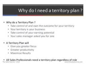 Sle Territory Sales Plan by Territory Planning The Sales Journey