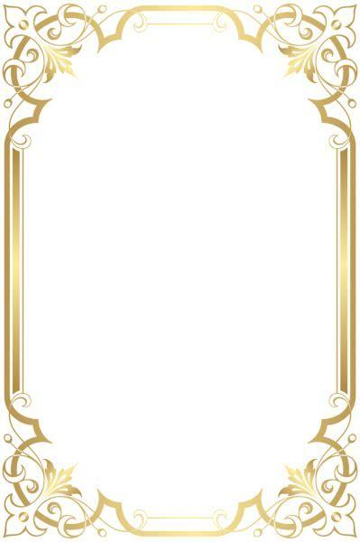 Border Frame Transparent Clip Art   Gallery Yopriceville
