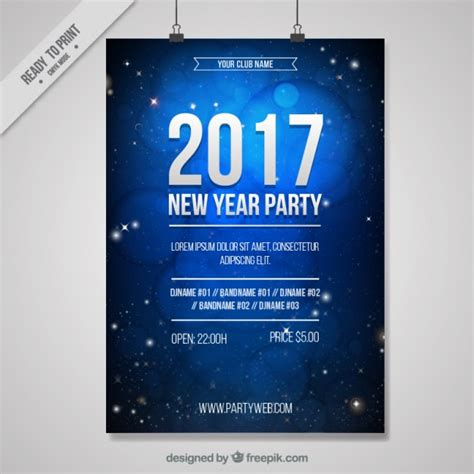 new year posters 2016 new year 2016 poster vector free