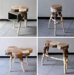 recycling pine trees into wood furniture products