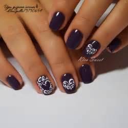 Фото ногтей синий дизайн