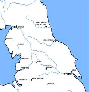 Map Of Northern England by Northen England Images Frompo 1
