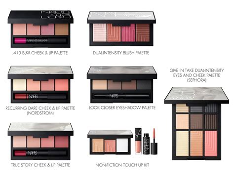 Get A Fashionable Lip Palette For Fall 2 by Nars Velvet Lip Glide 413 Blkr Cheek And Lip Palette And